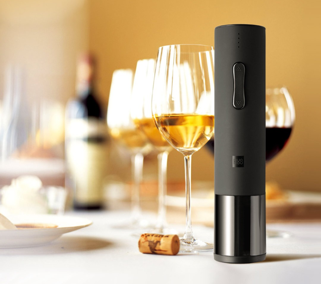 Электрический штопор Xiaomi HuoHou Wine Electric Bottle Opener